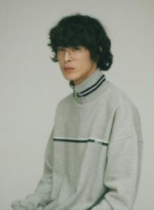 [오디너리피플] 집업 넥 그레이 스웨트 셔츠