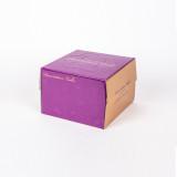 케익박스 쉬폰 1호 (보라) (케익상자/케익박스/케익포장/cake box/케이크 상자/케이크 박스/케이크 포장)