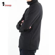 남자 터틀넥 1816 밍크털 목폴라 겨울 긴팔 티셔츠