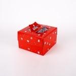 쉬폰 케익박스  2호 (크리스마스) (케익상자/케익박스/케익포장/cake box/케이크 상자/케이크 박스/케이크 포장)