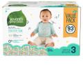 미국기저귀 세븐스 제너레이션 아기 기저귀 사이즈 3 (93ea) 몸무게 7.2~12.7kg용