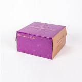 쉬폰 케익박스 3호 (보라) (케익상자/케익박스/케익포장/cake box/케이크 상자/케이크 박스/케이크 포장)