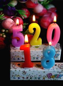 생일 숫자 초