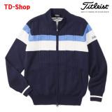 타이틀리스트 스트레치 케이블 방풍 집업 니트 스웨터 골프웨어 TWMK1761 티디샵
