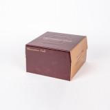 케익박스세트 쉬폰 2호 (초코) (케익상자/케익박스/케익포장/cake box/케이크 상자/케이크 박스/케이크 포장)