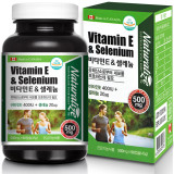 네추럴라이즈 비타민E 400IU 셀레늄 20㎍ 토코페롤 3개월분 항산화영양제