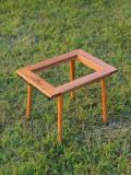 [레트로스] Wood & Steel 버너테이블