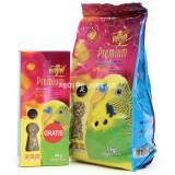 비타폴 프리미엄 사랑앵무사료 1kg + 프리미엄 영양 스매커 증정