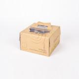 케익박스 에펠1호 크라프트 (케익상자/케익박스/케익포장/cake box/케익상자/케익박스/케익포장/cake box/케이크 상자/케이크 박스/케이크 포장)