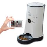 펫스테이션 - 스마트폰으로 강아지(애견)/고양이와 영상통화하는 자동급식기/애견자동 급식기/강아지 밥그릇