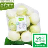[이팜] 깐양파(3kg)(무농약이상)(국산)