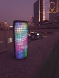 Freedio L3 LED 액션 블루투스 스피커 / 휴대용 캠핑 자전거