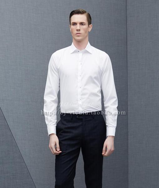 [해외] 남성 상의 / 남성 셔츠 Viagra can counter genuine 2014 pure white cotton long-sleeve : 맨즈집합 - 네이버쇼핑