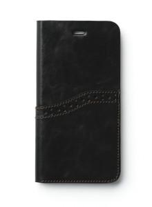 제누스 아이폰8 플러스 옥스포드 가죽케이스 블랙
