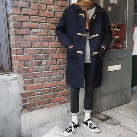 데일리 더플코트 / daily duffle coat (3color)
