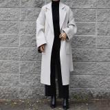 로에 오버핏 핸드메이드 코트 (3color)