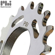 [PBI] Chrome Polish Track Cog 17T (1/8 inch) / 피비아이 크롬 트랙 코그 17T / 픽시 코그