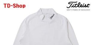타이틀리스트 기모 이너웨어 하이넥 스트레치 티셔츠  골프웨어 TWMC1610 티디샵