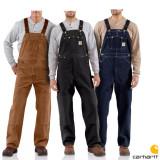 칼하트 오버롤 멜빵바지 Carhartt Men's Duck Overall Bib