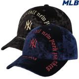 [MLB]엠엘비 고딕아치로고 벨로아 커브캡(32CPKM741)