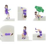 [키탄클럽] 컵위의 후치코상 3탄 포도 버젼 가챠 6종 세트