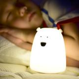 [말랑말랑] 빅베어 실리콘 LED터치 무드등