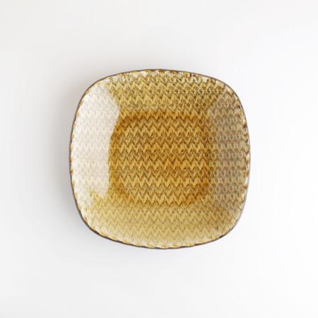 [Takehiro Ito] 이토 타케히로 슬립웨어 21cm 정사각형 그릇