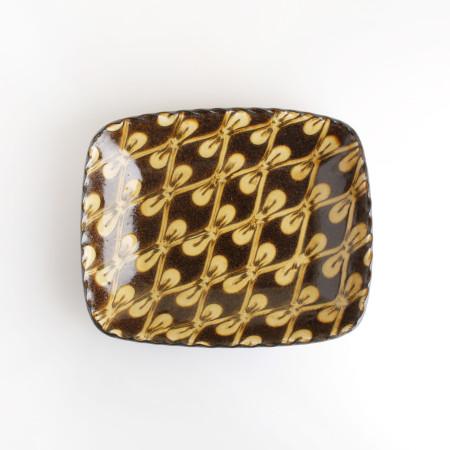 [Takehiro Ito] 이토 타케히로 슬립웨어 26.5cm 직사각형 그릇