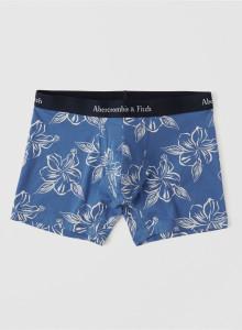 [미국] 아베크롬비앤피치 사각팬티 Abercrombie&Fitch BOXER BRIEF Blue Pattern