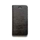 제누스 아이폰8 큐브 가죽케이스 블랙