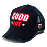 [해외] 요시노리 코타케 GOOD LIFE 메쉬캡 엠블럼 (레드) YK3DPILE-GLIFE/NVY.9 NVY WHT/RED YOSHINORI KOTAKE