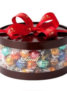 [선물 세트] Lindt 린츠 브랜드 프리미엄 초콜릿 / 11 종 프리미엄 초콜릿 100 개 선물세트 / 이테리 스위스산 초콜릿 사용 고급 선물세트
