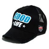 [해외] 요시노리 코타케 GOOD LIFE 메쉬캡 엠블럼 (블루) YK3DPILE-GLIFE/NVY.9 NVY WHT/RED YOSHINORI KOTAKE