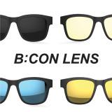 렌즈 판매|스마트글라스SEESUN B:CON-10 (시선 비콘) 스모그,블루,골드미러,청광렌즈 / 편광선글라스,청광선글라스