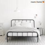 [한정수량]라인 철제침대 튼튼한 철재프레임 침대 북유럽스타일 심플한 침실가구