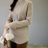 걸스데일리/폼므 라운드 티셔츠/기모롱티/롱티
