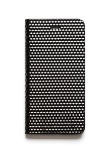 제누스 아이폰8 플러스 큐브 가죽케이스 블랙