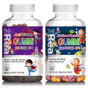 더 리얼 멀티비타민꾸미/칼슘앤비타민D꾸미 택1