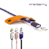 프랜베리 FMC800 마그네틱 자석 5핀 8핀 C타입 충전 USB 케이블