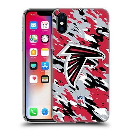 [해외]아이폰X 케이스 Official NFL Camou Atlanta Falcons Logo Soft Gel Case for Apple iPhone X : AlimNC - 네이버쇼핑