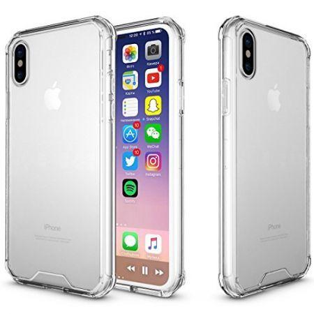 [해외]아이폰X 케이스 iPhone X Case, Gelite iPhone X Case Scratch Resistant Hybrid Protective Clear Case for : AlimNC - 네이버쇼핑