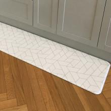 헤링본 PVC 양면 주방매트 특대 180cm