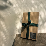 [액자주문고객 추가구성] 드라이플라워 액자 선물상자 크리스마스 선물 상자 캘리그라피 주문제작 고급 선물 상자, 예쁜 포장 박스, 크라프트 종이 상자