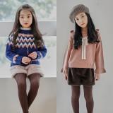 (겨울신상)이니앙 밍크 반바지[밤색, 핑크] 5호~15호