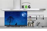 주방아트보드 키친아트갤러리(디자인)- 달빛 하모니 (Large 사이즈)