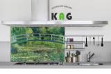주방아트보드 키친아트갤러리(명화)- 모네 - 수련 3 (Large 사이즈)