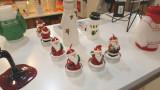 Candle santa 6 pack / 산타 왁스 피규어