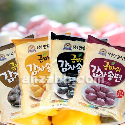 금바위감자떡 감자송편600g (4종 택일)