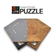 CF 퍼즐 [6각 우드 화로대 테이블]