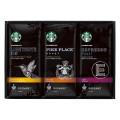 [선물 세트] 스타벅스 오리가미 드립 커피 SBX-20F 3가지 종류 원두 각 5봉지(총 15매) 블랙 커버 타입